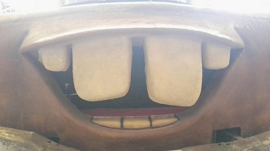 """Los dientes de """"Mate"""" llaman la atención. (Foto: Gustavo Méndez/Soy502)"""
