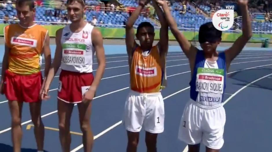 Oscar Raxón es el único representante guatemalteco en los Juegos Paralímpicos de Río. (Imagen: Captura Claro TV)