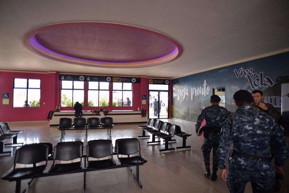Así son las instalaciones del aeropuerto Los Altos, Quetzaltenango. (Foto: Wilder López/Soy502)