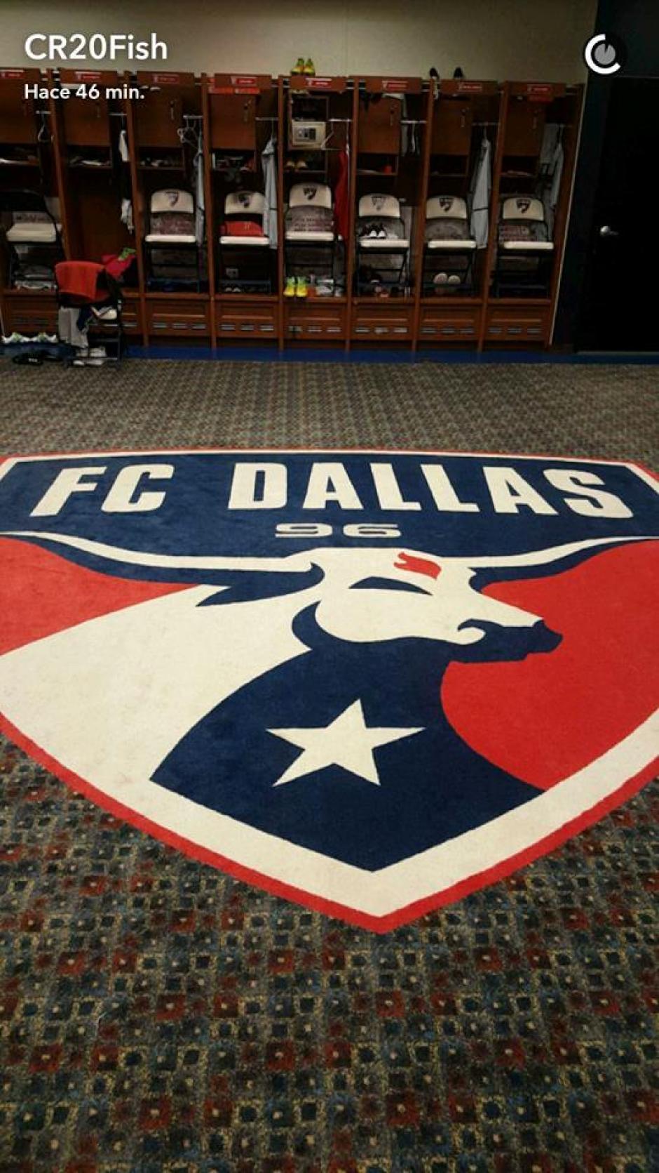 Ruiz compartió en su Snapchat que está feliz de volver al FC Dallas. (Foto: Carlos Ruiz)
