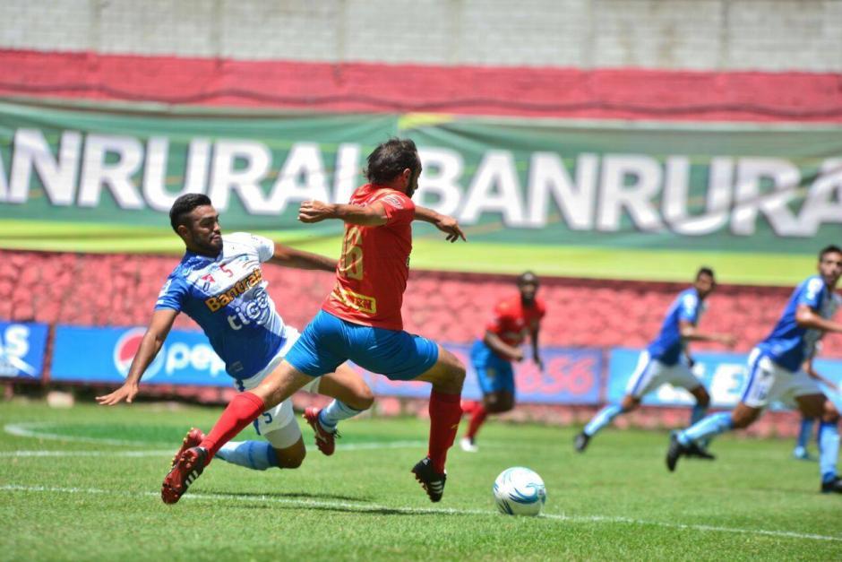 Cristian Jiménez y Danilo Guerra marcaron los otros goles. (Foto: Wilder López/Soy502)