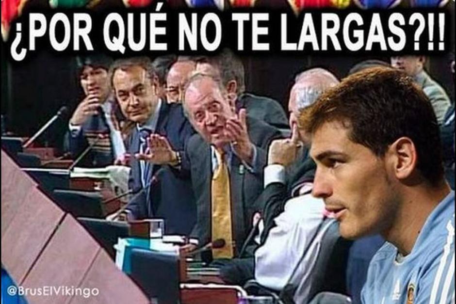 """Los """"memes"""" de Casillas trascendieron al campo político. (Foto: as.com)"""