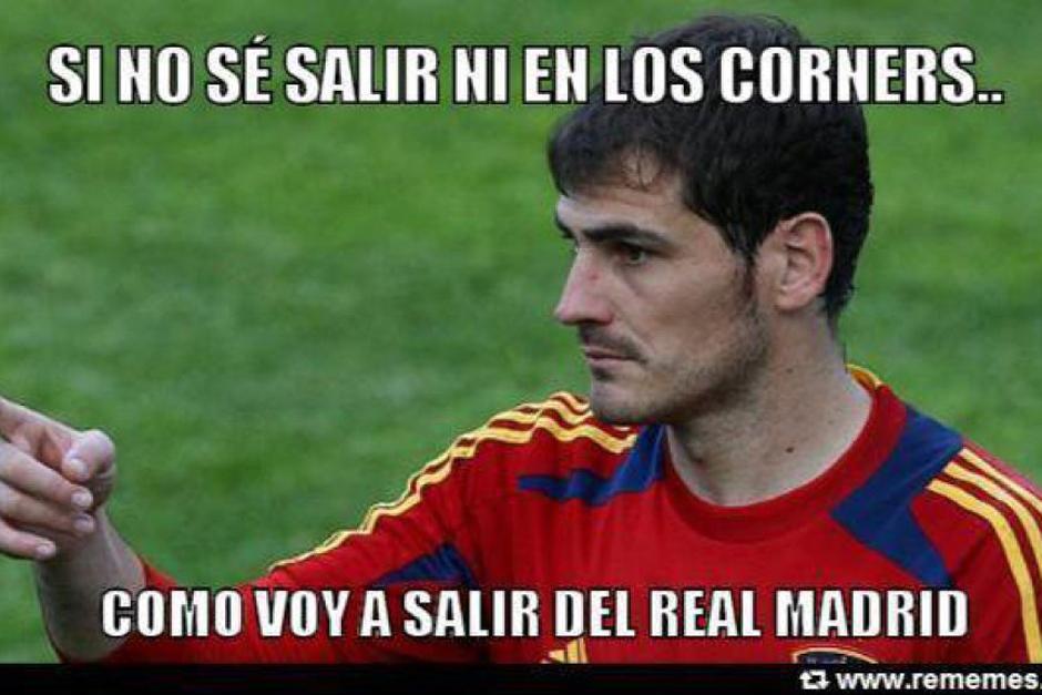 Las bromas sobre la despedida de Casillas y la manera en que saldrá del campo. (Foto: as.com)