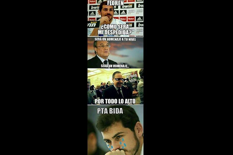 Una broma sobre la actual relación entre Iker y Florentino Pérez
