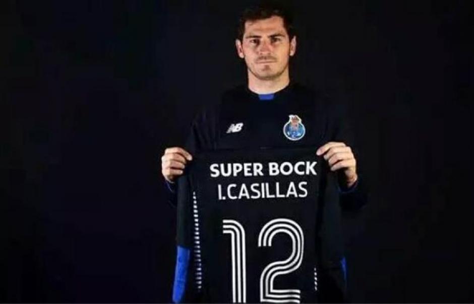 Iker Casillas debita con el Oporto