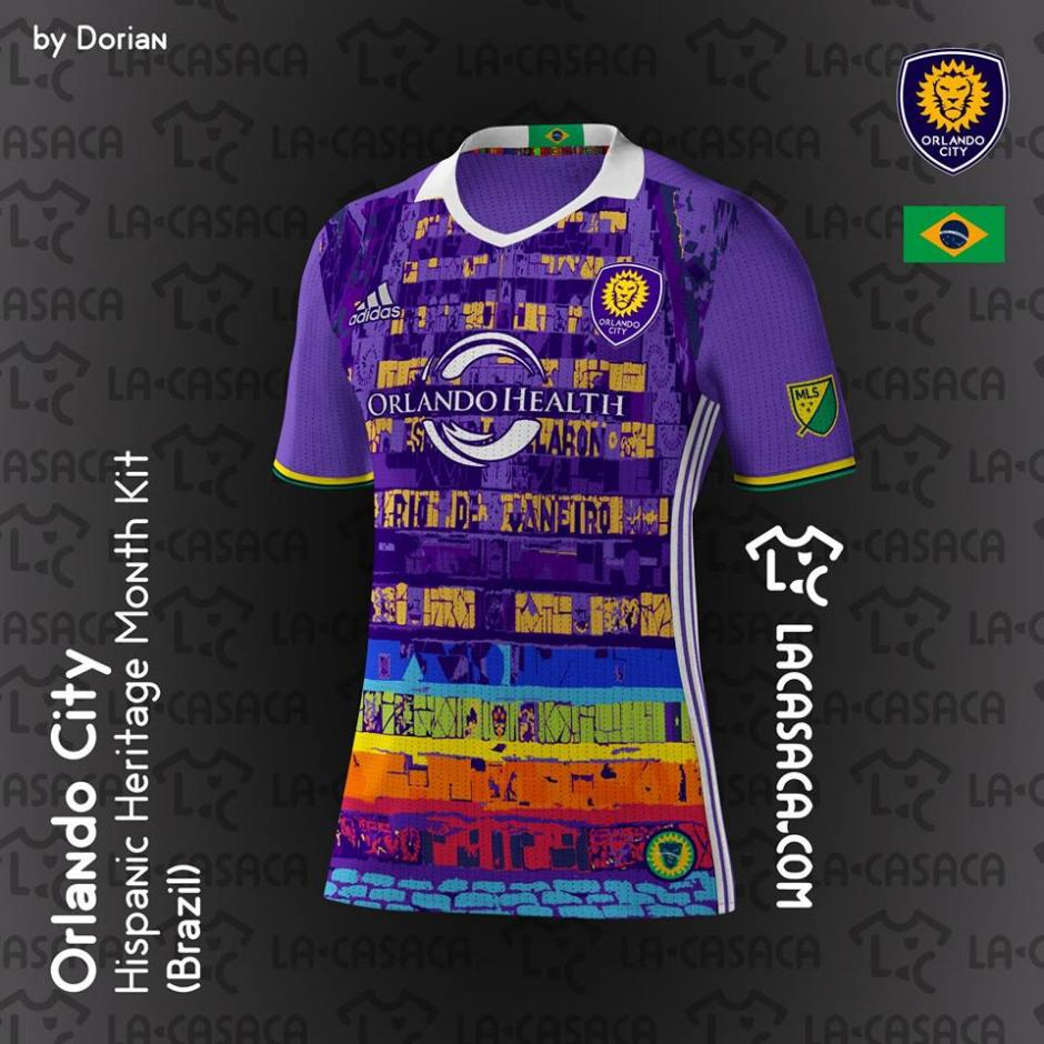 La fiesta y el colorido brasileños también están dentro de estas playeras. (Foto: La Casaca)