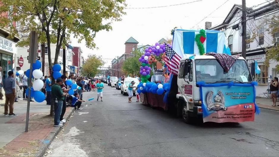 Cientos de guatemaltecos que viven en Estados Unidos celebraron el día de la independencia de Guatemala. (Foto: Cortesía Gerson Miranda)