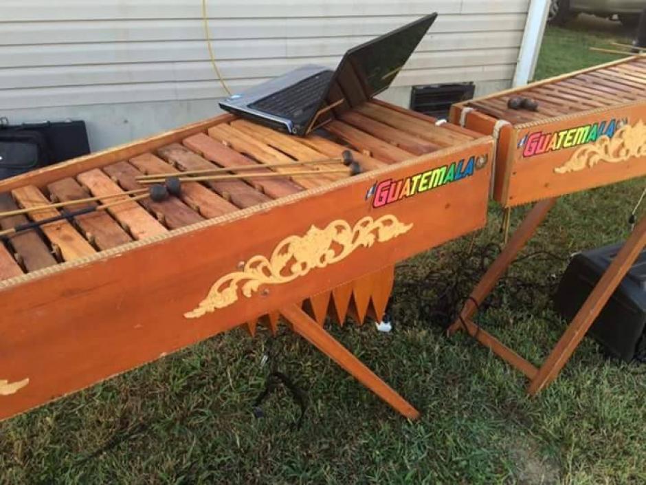 La marimba acompañó las fiestas patrias de los guatemaltecos en Delaware, Estados Unidos. (Foto: Diego López)