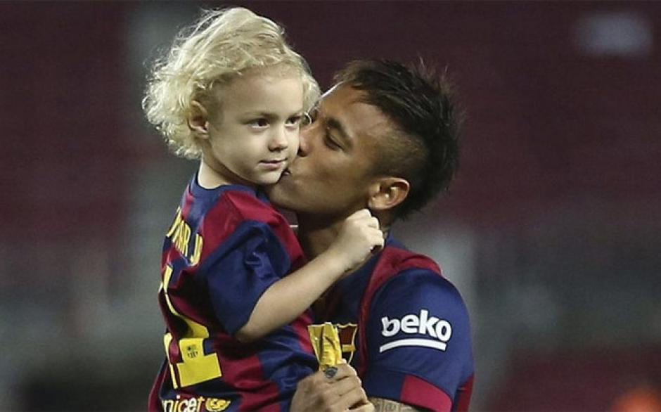 Neymar espera que su hijo pueda brillar en el fútbol. (Foto: Twitter)