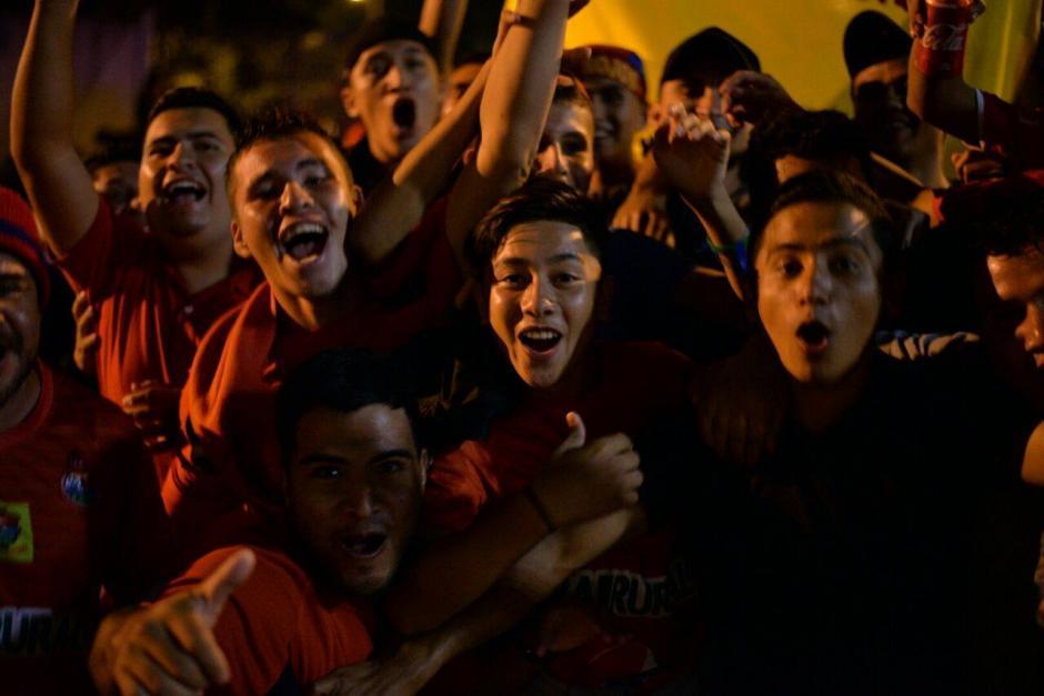 Aficionados de Municipal se hicieron presentes al clásico en el que fueorn locales. (Foto: Wilder López/Soy502)
