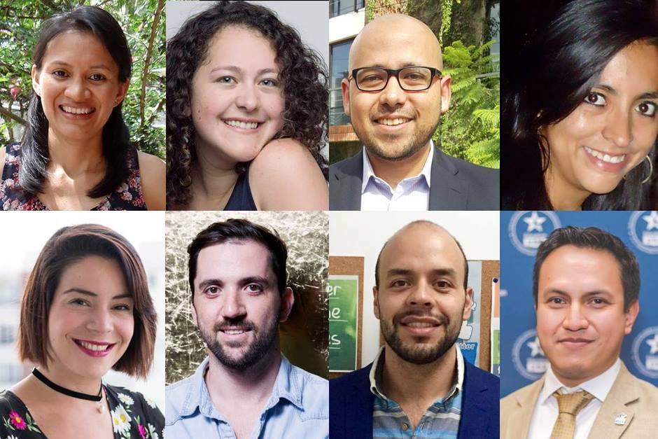 Ocho jóvenes serán los que representarán a Guatemala en el programa. (Foto: Soy502)