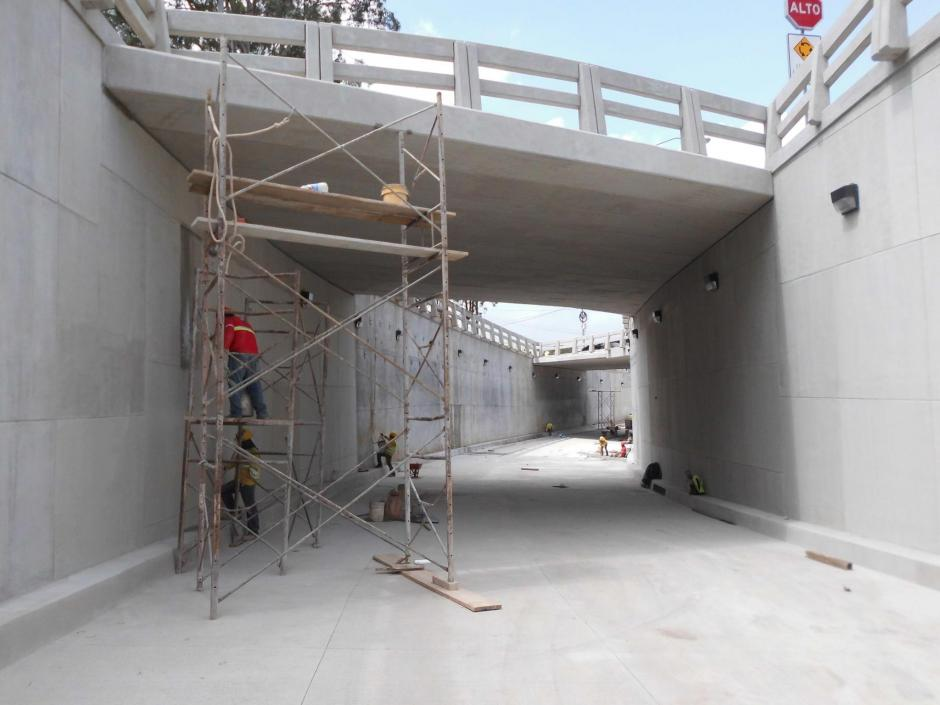 Se espera que la próxima semana, la vía sea habilitada. (Foto: Álvaro Hugo Rodas)