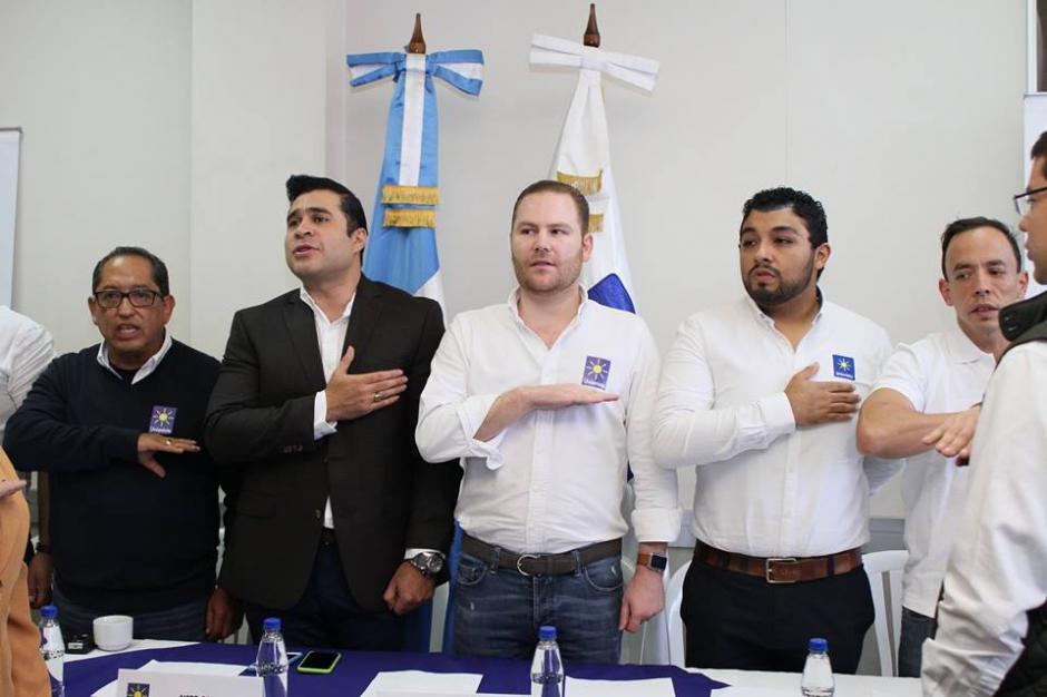 Los demás miembros del partido Unionista en la asamblea municipal. (Foto: Facebook/Partido Unionista)