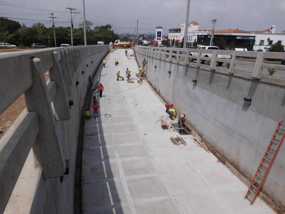 El proyecto vial se empezó a trabajar a principios de este año. (Foto: Álvaro Hugo Rodas)