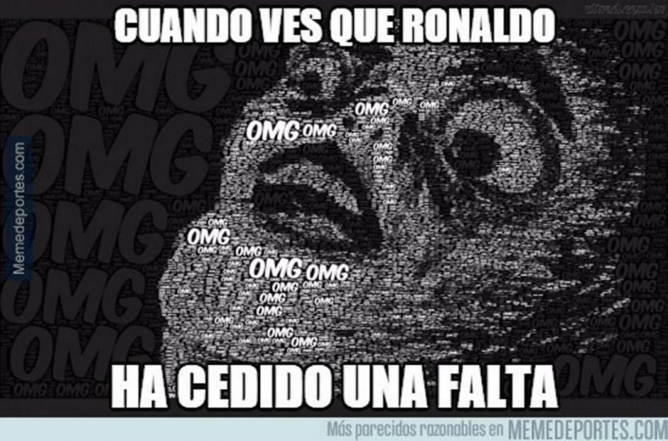 Llamó la atención también que Cristiano Ronaldo le dejara un tiro libre a Gareth Bale. Ambos son de los designados a patearlos en el Madrid.