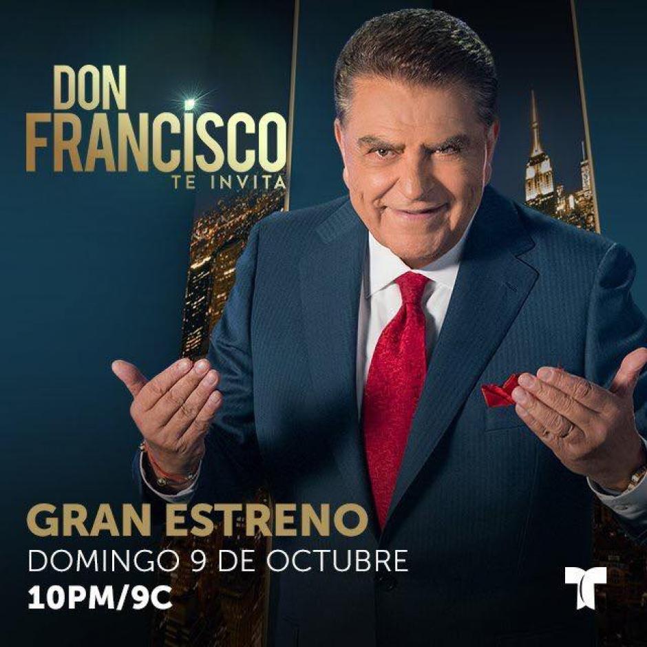 El primer programa se transmitirá este domingo por la cadena Telemundo. (Foto: Don Francisco te invita)