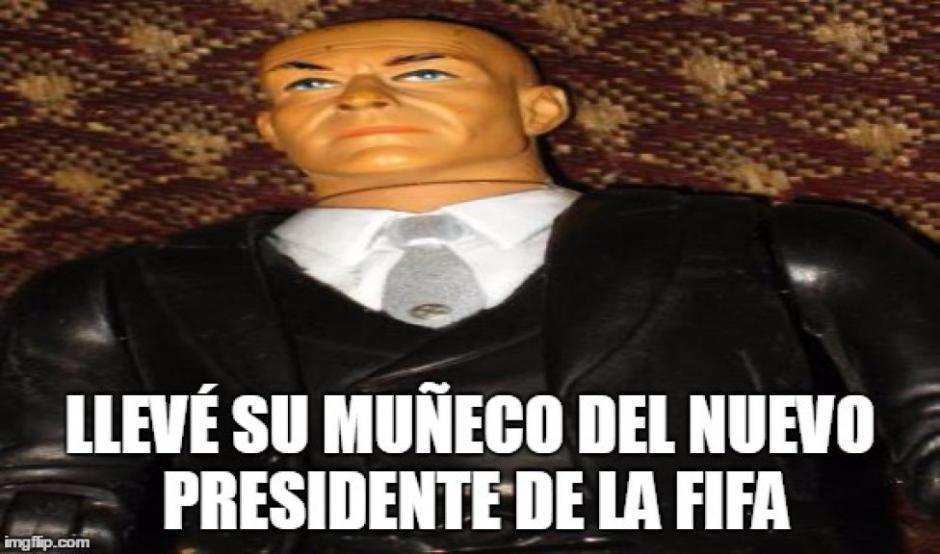 Las bromas sobre la falta de cabello de Gianni Infantino han inundado las redes. (Imagen: mexico.as.com)