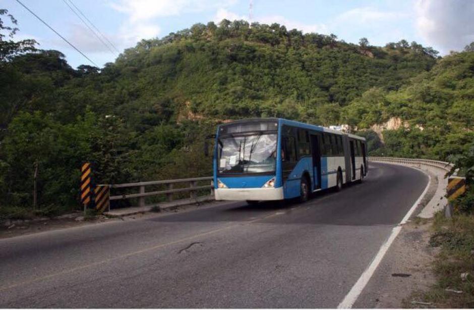 Los articulados ingresaron a Guatemala vía terrestre. (Foto: Facebook/Neto Bran)