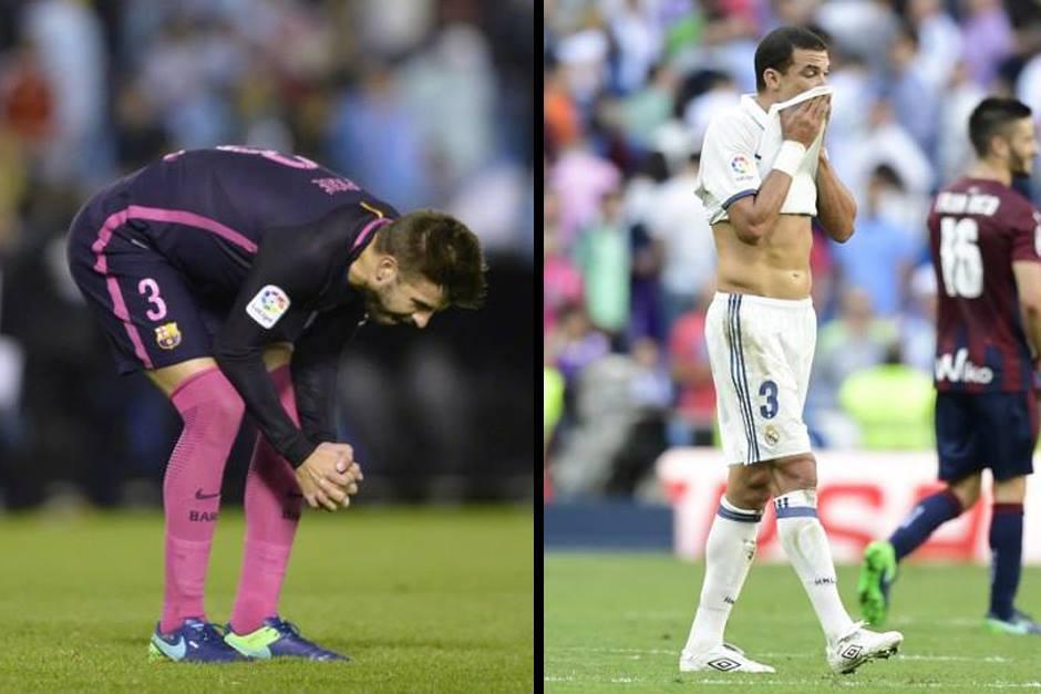 Los dos más grandes de España tienen serios problemas. (Foto: AFP)
