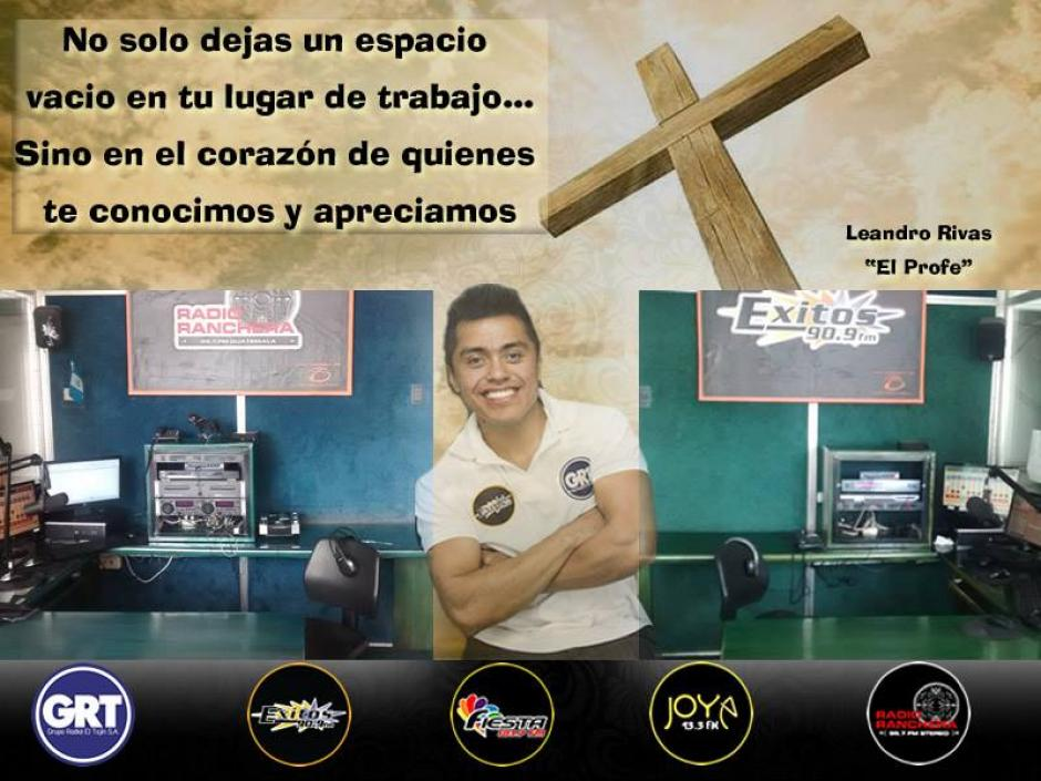 Leandro Rivas era un destacado locutor en las radios Éxitos y Ranchera. (Foto: Facebook/Radio Ranchera)