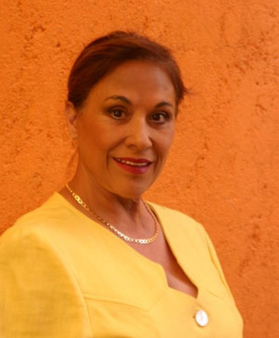 Martha Zavaleta se convirtió en una productora. (Foto. t13.cl)