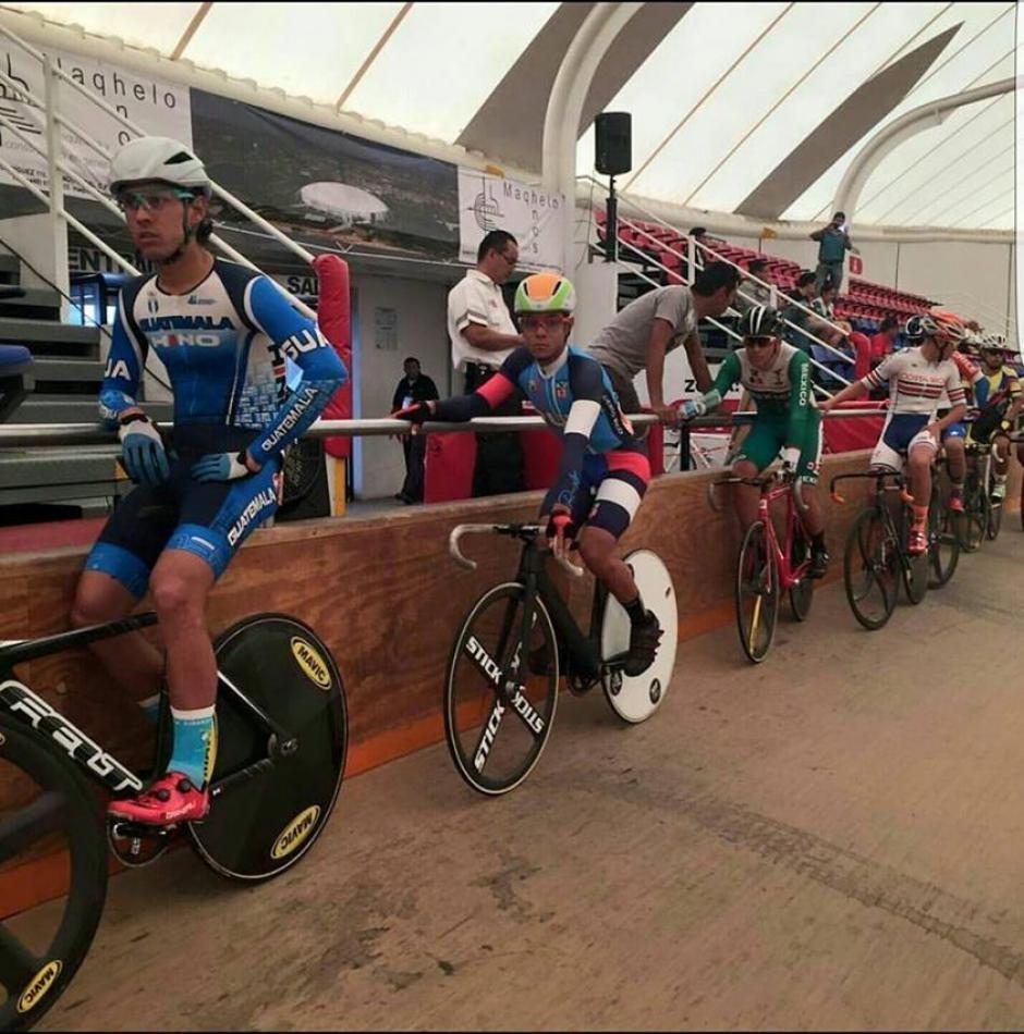 Instantes previos de la competencia de Julio Padilla. (Foto: COG)
