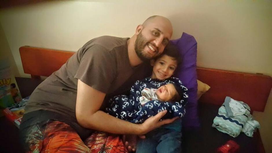 Kael es el tercer hijo de la familia Jiménez. (Foto: Facebook)