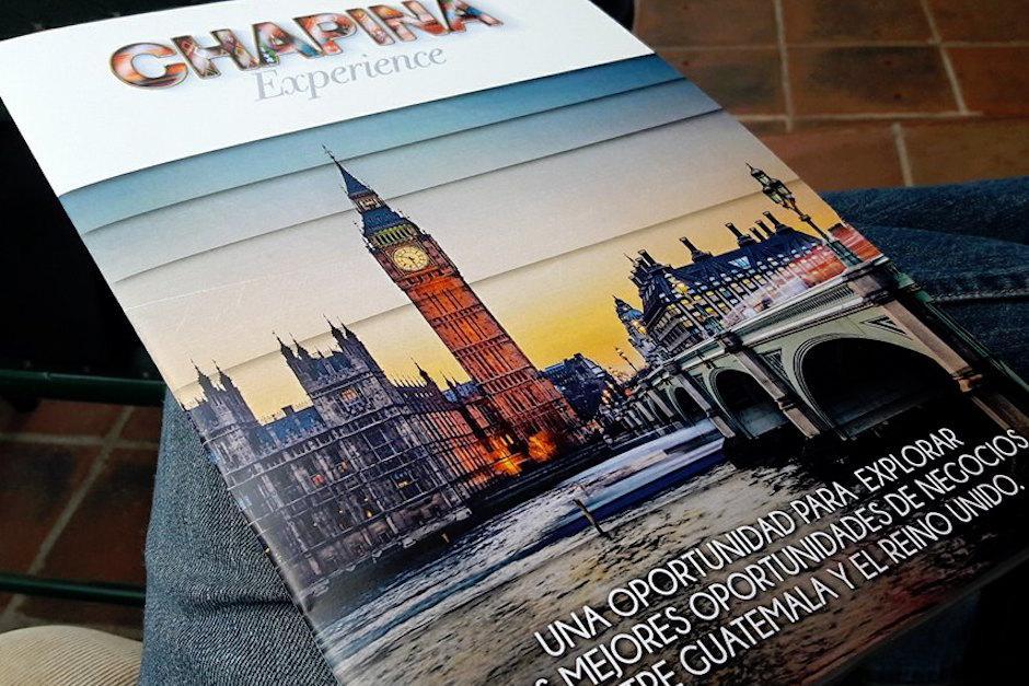Chapina Experience abre la oportunidad para que cualquier empresa se conecte con el mercado de Reino Unido. (Foto: Javier Lainfiesta/Soy502)
