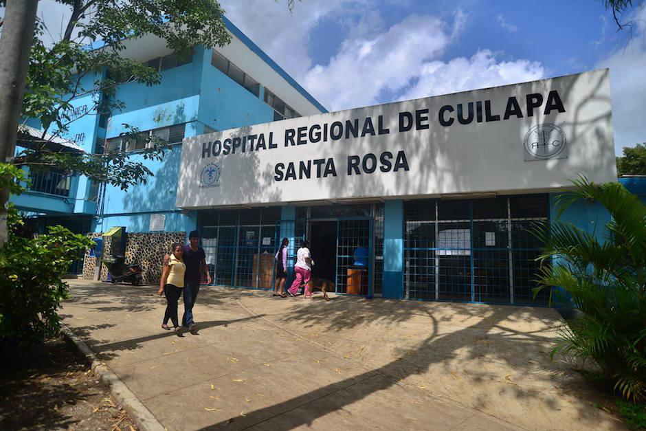 El Hospital Regional de Cuilapa sufrió especialmente el desabastecimiento. (Foto: Archivo/Soy502)