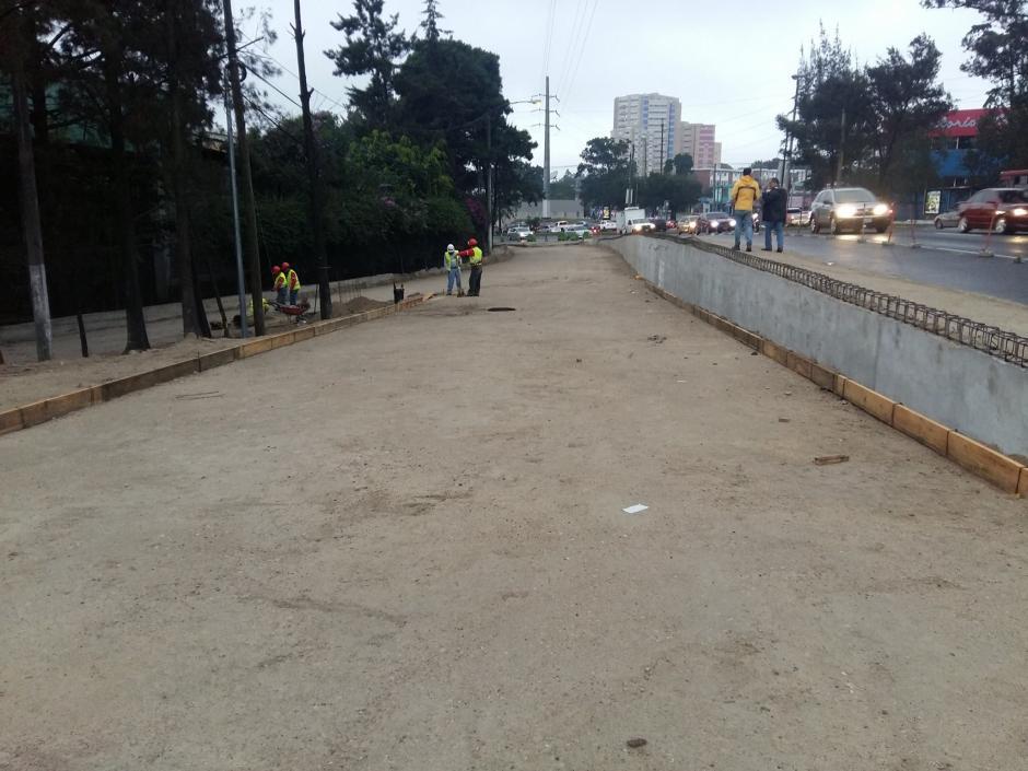 Los trabajos de ampliación del puente del Anillo Periférico generarán inconvenientes por dos semanas. (Foto: Álvaro Hugo Rodas)
