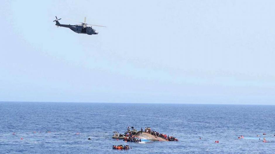 La Marina de Italia difundió las imágenes. (Foto: Marina italiana)