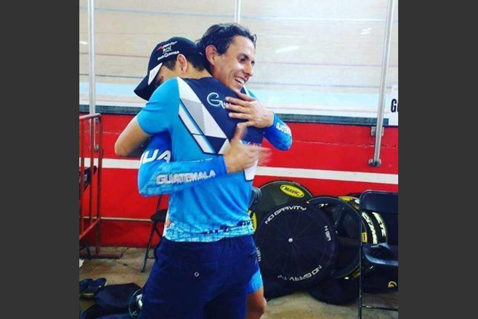 Julio Padilla subió al podio en México. (Foto: COG)