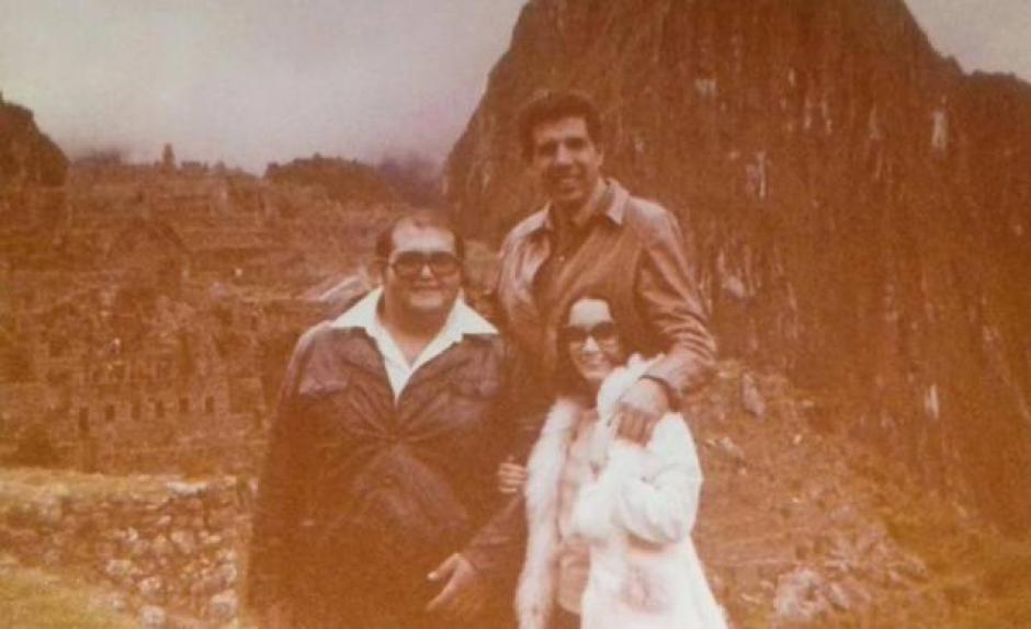 Edgar Vivar, Rubén Aguirre y María Antonieta de las Nives posan durante una viaje. (Foto: La Chilindrina Oficial)