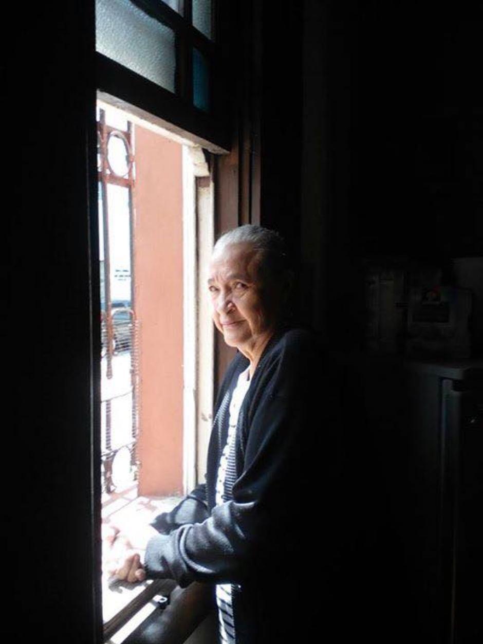 La mujer de 71 años escapó de la casa de reposo donde se encontraba. (Foto: Facebook)