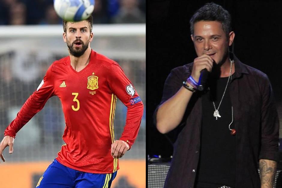 El cantante de Madrid envió un Tweet a Piqué. (Foto: AFP/AS)