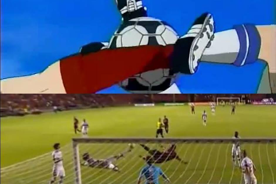 Comparación entre ambos goles. (Capturas de Pantalla)