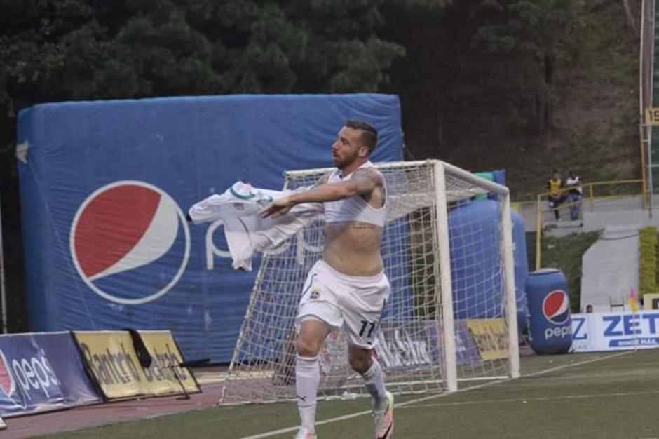 Emiliano López anotó doblete en la jornada 14. (Foto: Facebook/ Comunicaciones)