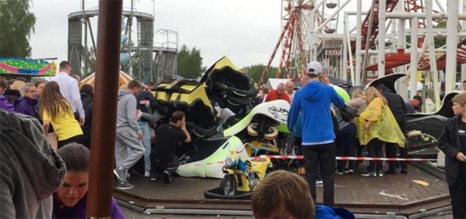 Entre los heridos hay chicos que están entre los 10 y 15 años. (Foto: Twitter)