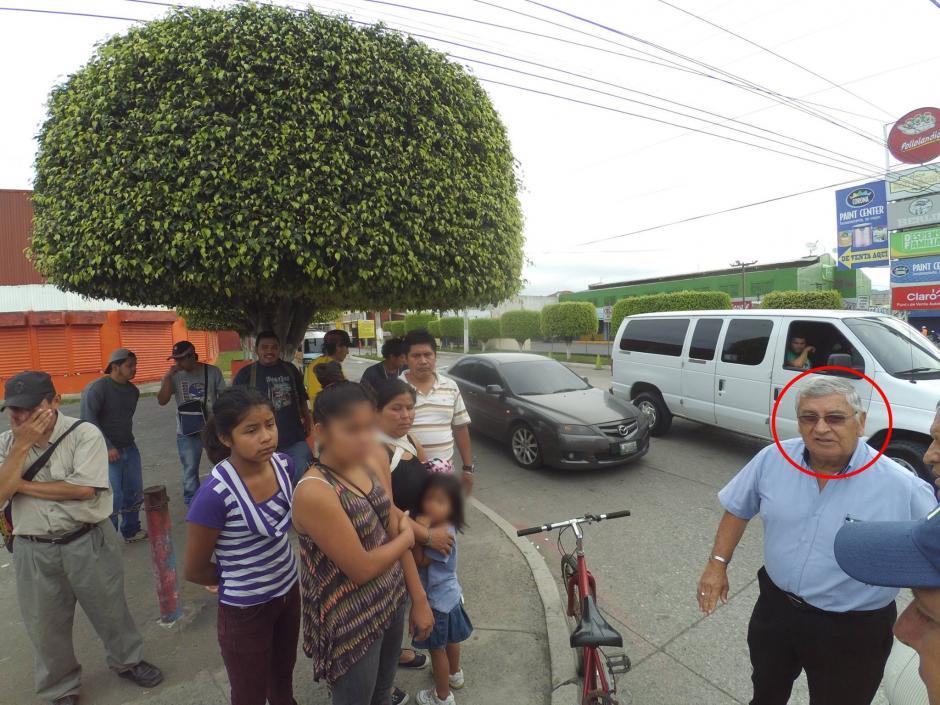 Según el medio de comunicación, el conductor no se responsabilizó por los daños que ocasionó. (Foto: San Miguel Petapa.com)