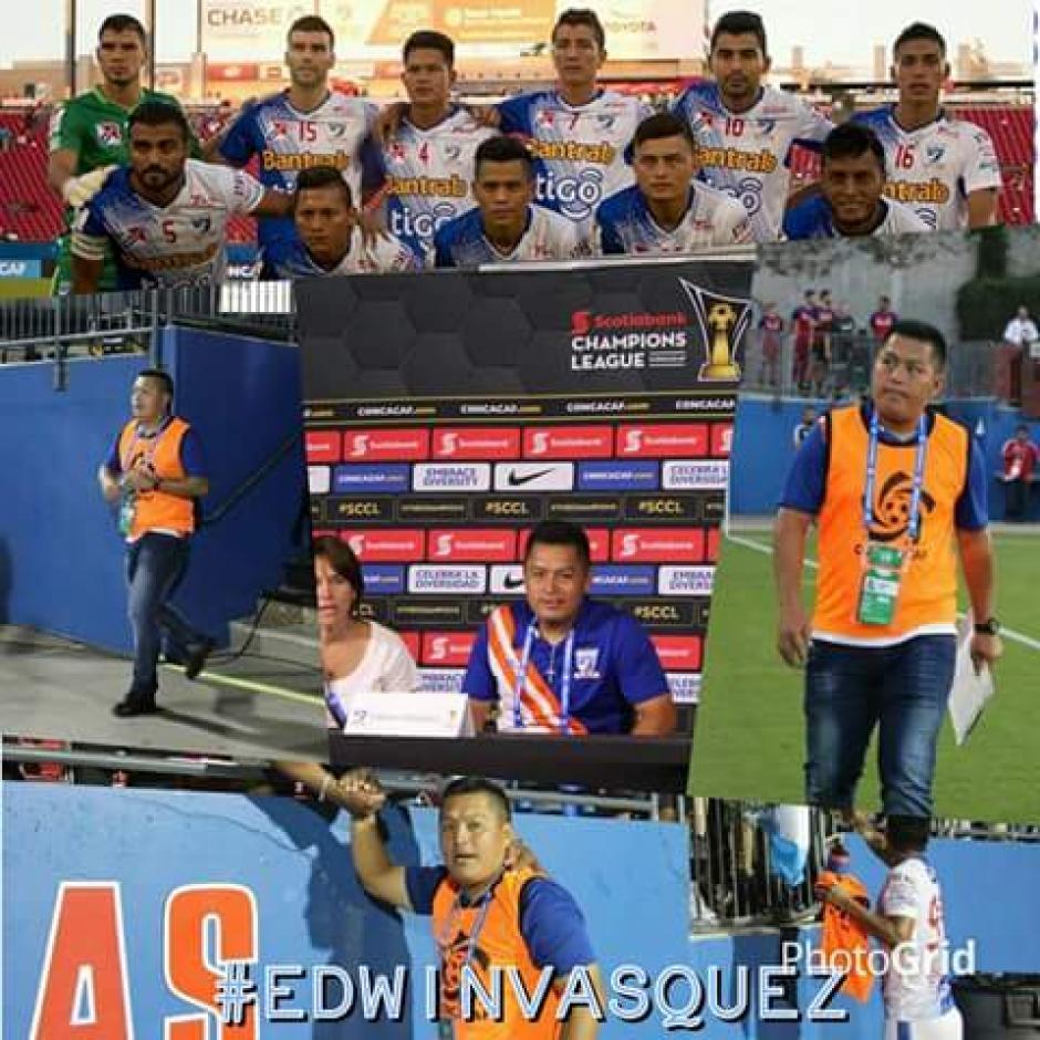 El técnico nacional Edwin Velásquez se despidió en sus redes sociales. (Foto: Facebook)