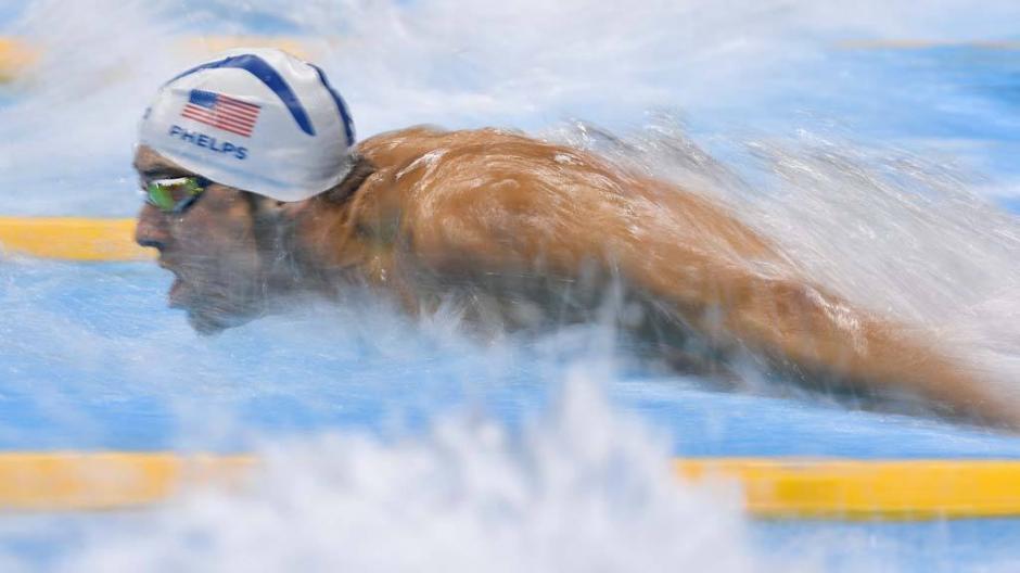 Phelps sigue consiguiendo lo imposible en la piscina olímpica. (Foto:Twitter)