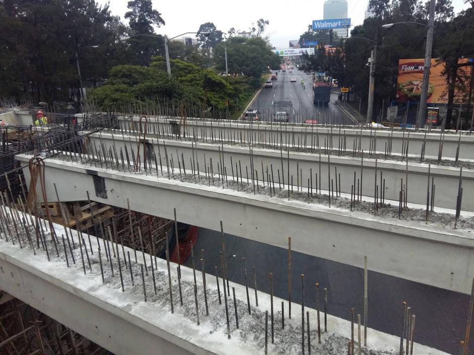 Se espera que la ampliación del puente finalice en las próximas semanas. (Foto: Álvaro Hugo Rodas)