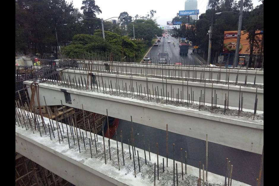 En dos semanas podrás utilizar de nuevo esta vía. (Foto: Municipalidad de Guatemala)