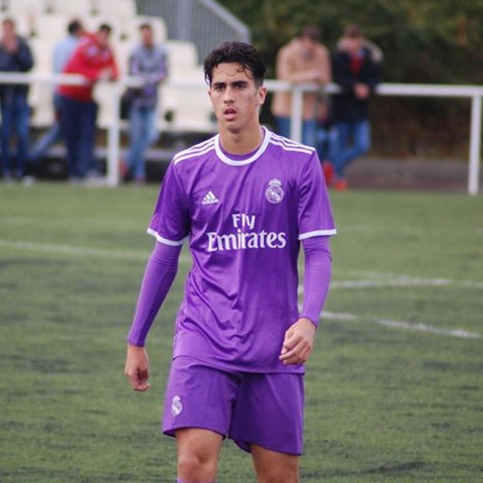 Martín Calderón, un volante del Real Madrid al que hay que prestarle atención. (Foto: Twitter)