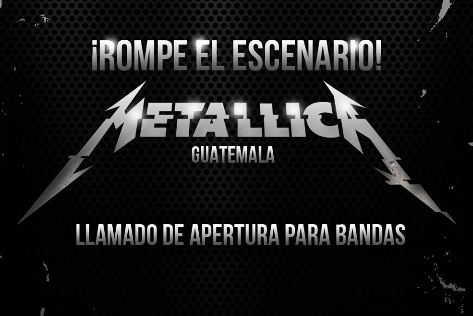 Tienes hasta el 20 de octubre para enviar tus videos. (Foto: SD Concerts Guatemala)