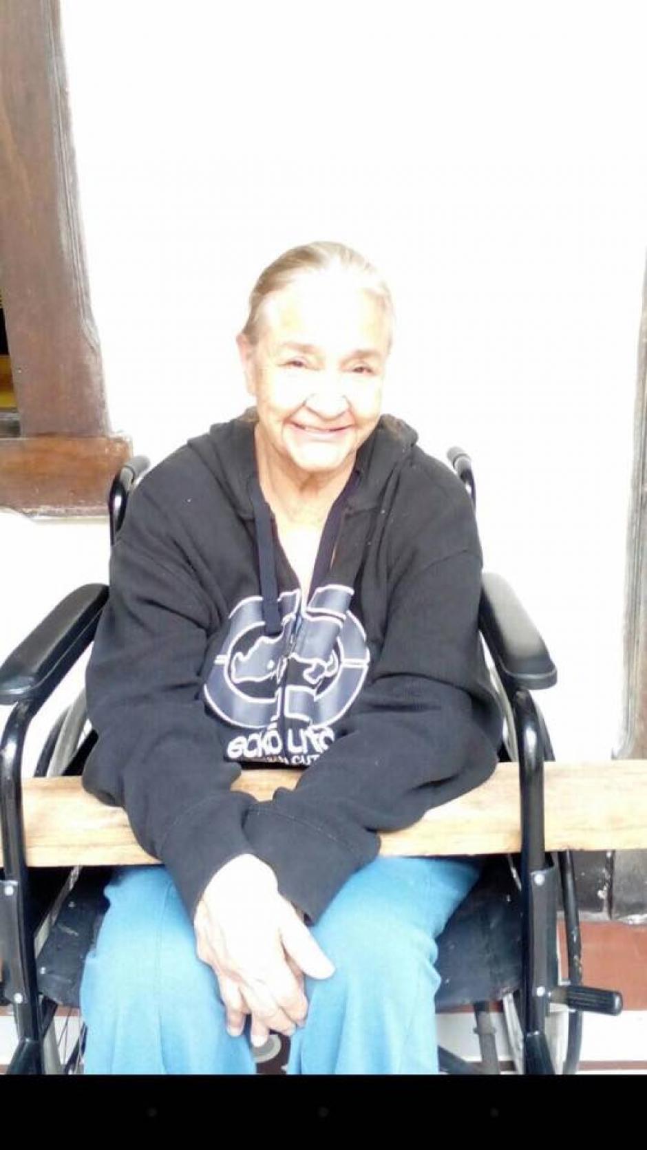 María Ofelia De León González fue reportada como desaparecida. (Foto: Facebook)