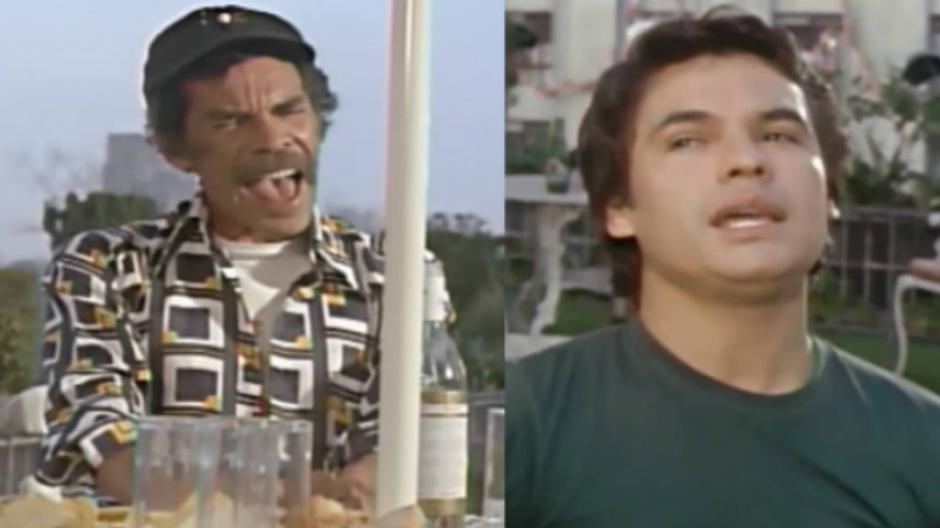 Don Ramón y Juan Gabriel compartieron escena en una película de 1979