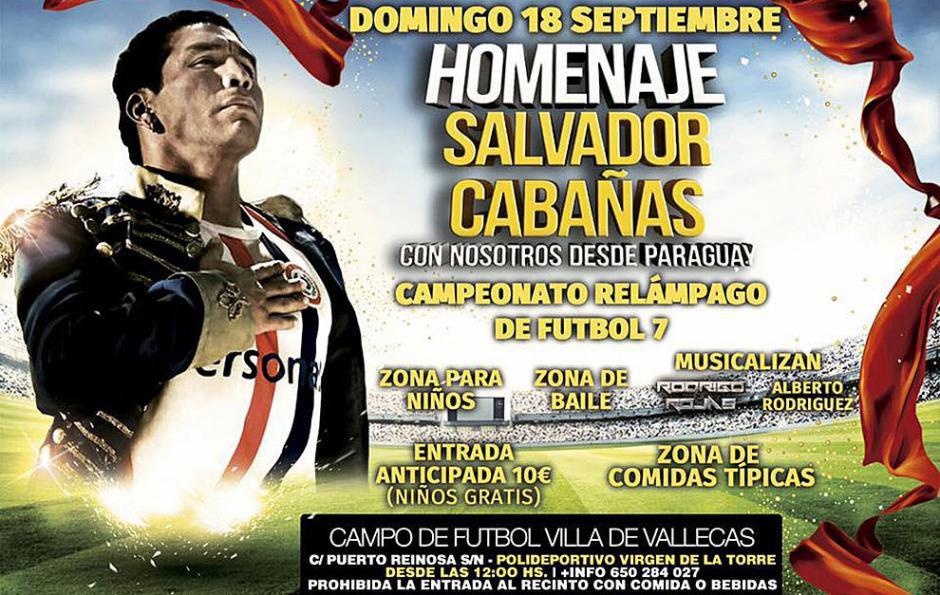 Cabañas viajó a España para recibir varios reconocimientos de la comunidad guaraní. (Foto: Marca)