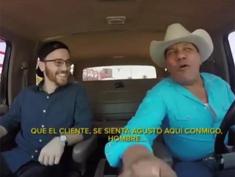 Lupe Esparza chofer de Uber monterrey foto