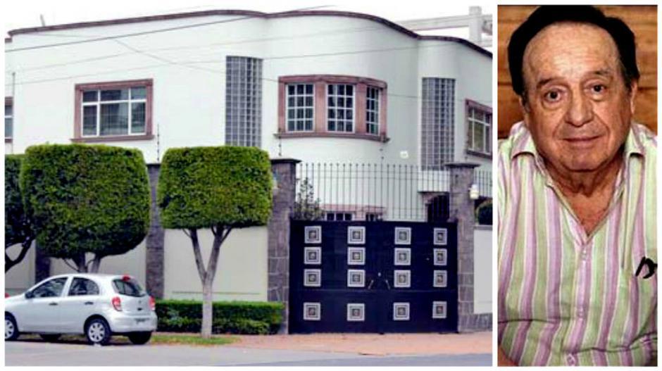 La casa está valorada en 428 mil dólares y se ubica en la Ciudad de México